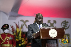 LIVESTREAMING: Akufo-Addo delivers SONA in Parliament