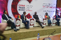 Yofi Grant, CEO of the Ghana Investment Promotion Centre speaking at the China Trade Week