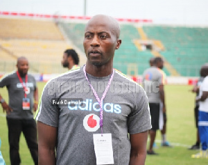 Black Meteors head coach Ibrahim Tanko