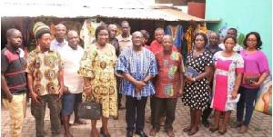 Aburi Craft Village executives