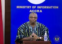 Deputy Health Minister Alexander Kodjo Kom Abban