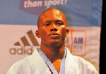 Ghanaian judoka, Emmanuel Nartey
