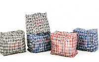 Sack bags containing the money