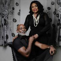 Richard Mofe-Damijo and wife Jumobi