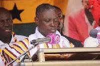 Flagbearer of Ghana Union Movement, Rev. Christian Kwabena Andrews