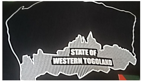 Map of the Western Togoland