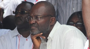 Kennedy Agyepong, MP for Assin Central