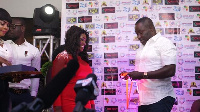 Emelia Brobbey becomes the first actor to receive Africa Gold Awards.