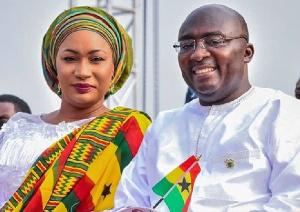 Second lady, Samira Bawumia and husband, Vice president, Dr Mahamudu Bawumia