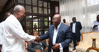 President John Mahama is expected to hand over power to the president-elect Nana Akufo-Addo.