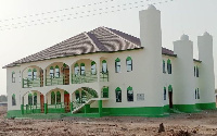 A photo of the newly-built mosque