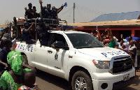 Northern Regional Minister Abdalla Abubakar visits Nayiri Palace