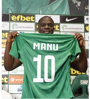 Ghanaian player, Elvis Manu