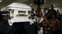 Mortal remains of Papa Wemba