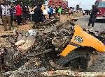 Three injured in accident near Nsawam