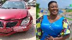 Gospel singer Ewuraba Eesi involved in near-fatal accident