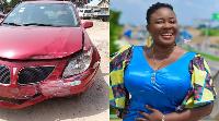 Ewuraba Esi sustained minor injuries in the accident