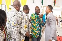 Rev Owusu Bempah was prevented from reaching former president Mahama