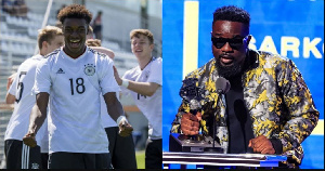 Ghana international, CJ Akonnor and rapper Sarkodie