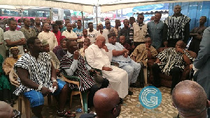 Several  Ministers of State were in  attendance to commiserate with the bereaved family