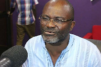 MP for Assin Central, Mr. Kennedy Agyapong