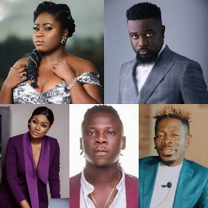 Ghanaian celebrities have shown solidarity to Nigerians