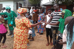 'The gesture formed part of the objective of the Club to support the needy'