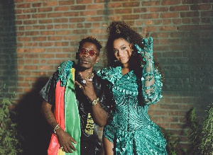 Shatta Wale with Beyonce