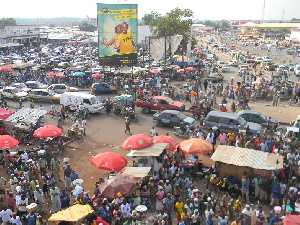 Central Business District@Tamale