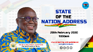 Akufo-Addo's fourth tate of the Nation Address is live on GhanaWeb