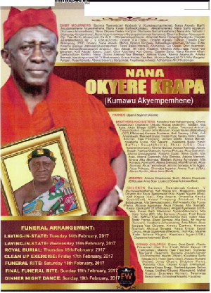 Kumawu Chief Late