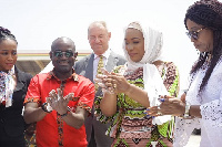 The event was graced by Samira Bawumia, Hon. Cynthia Morrison and the MD of Unilever Ghana
