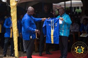 Akufo Addo Honoray Student Of OWASS