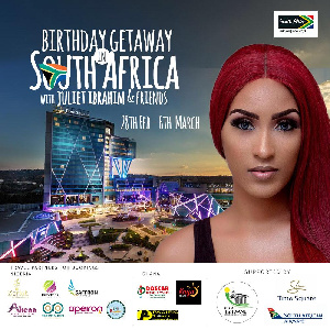 Ibrahim's celebrity friends from Ghana & Nigeria will be a part of the fun trip