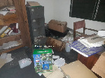 This is the sixth time in five years the office has been burgled