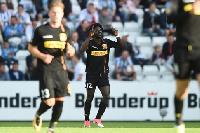 Ernest Asante was on the scoressheet for FC Nordsjaelland