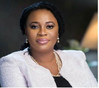 Former Chair of the Electoral Commission, Mrs Charlotte Osei