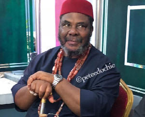 Veteran actor Peter Edochie