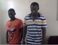 Abdul Razak Muhammed, 22 and Bashiru Rufai, 28