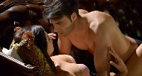 A scene from Forbidden Passion
