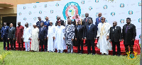 President Akufo-Addo with other African leaders