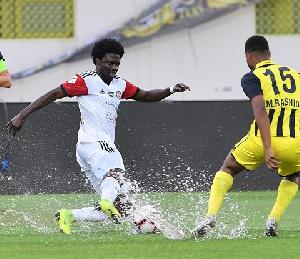 Ghana international  Ernest Asante