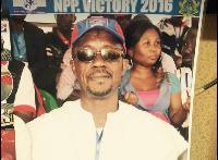 Mr. Nsowah Djan NPP parliamentary candidate for the Upper Denkyira West