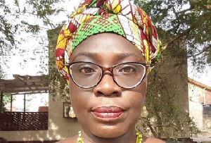 Journalist, Akua Djanie-Manfo also known as Akua Blakofe