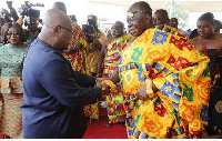 Asantehene became the 16th Chief of the Kingdom on April 26, 1999
