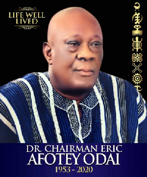Late Eric Afotey Odai, former Chairman of Accra Great Olympics Football Club