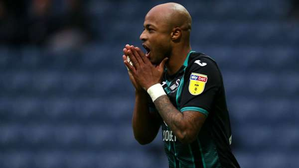 Steve Cooper praises Andre Ayew's role in putting pressure on Wycombe defenders