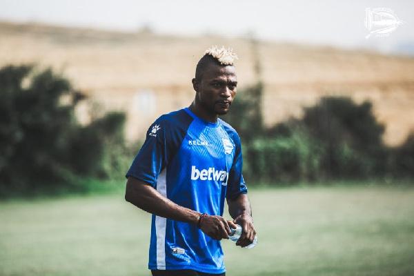 Ghana striker, Patrick Twumasi