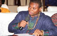 President of Imani Ghana, Franklin Cudjoe