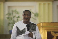 Apostle General of the Royal House Chapel Rev. Sam Korankye Ankrah